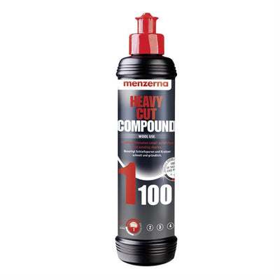 Menzerna 1100 Heavy Cut Compound Wool Use 250ml - WWW.PLANETAUTO.IE