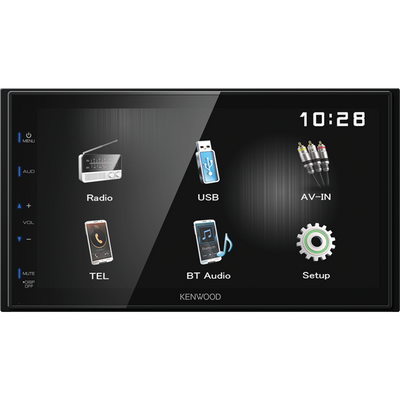 "Kenwood DMX-110BT 6.8"" Digital Media Receiver with Built-in Bluetooth - WWW.PLANETAUTO.IE"
