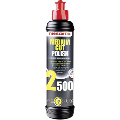 Menzerna Medium Cut Polish Classic 250ml - WWW.PLANETAUTO.IE
