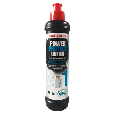 Menzerna Power Protect Ultra 2in1 High Gloss Finish & Wax 250ml - WWW.PLANETAUTO.IE