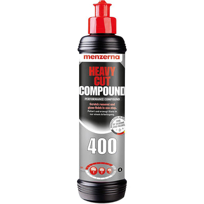 Menzerna 400 Heavy Cut Performance Compound 250ml - WWW.PLANETAUTO.IE
