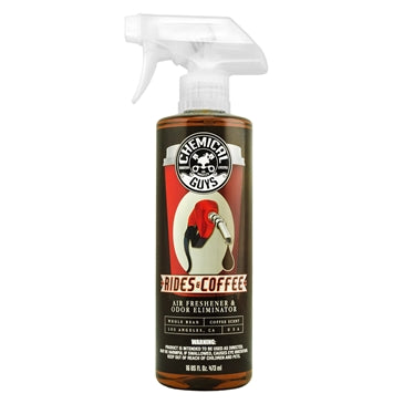 Chemical Guys Rides and Coffee Scent Premium Air Freshener and Odor Eliminator 473ml - WWW.PLANETAUTO.IE