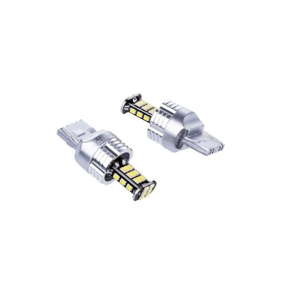 Premium LED Bulbs W21/5W 30SMD 3020 CANBUS 2 Pcs - WWW.PLANETAUTO.IE