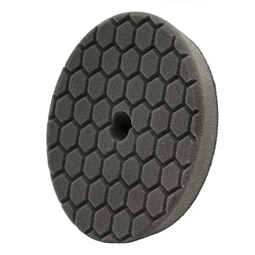 Chemical Guys Hex-Logic Quantum Finishing Pad, Black (5.5 Inch) - WWW.PLANETAUTO.IE