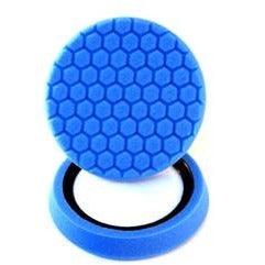 Chemical Guys 7.5″ Self Center Hex-Logic Blue Light Cleaning Pad - WWW.PLANETAUTO.IE