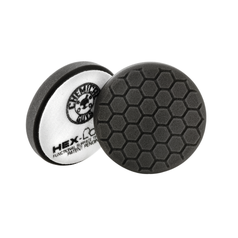"Chemical Guys Black Hex-Logic Finishing Pad 5.5"" - WWW.PLANETAUTO.IE"