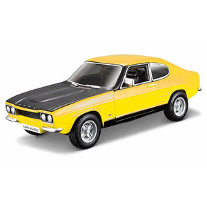 Burago 1970 Ford Capri 1/32 Scale Die Cast Model