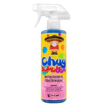 Chemical Guys Chuy Bubble Gum Scent Premium Air Freshener & Odor Eliminator 473ml - WWW.PLANETAUTO.IE