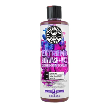 Chemical Guys Extreme Body Wash & Wax with Color Brightening Technology 473ml - WWW.PLANETAUTO.IE