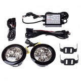 LED Daytime Running Light Round 90mm - WWW.PLANETAUTO.IE