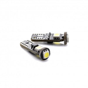 W5W T10 3 LED SMD 5050 CANBUS blister 2 pcs - WWW.PLANETAUTO.IE
