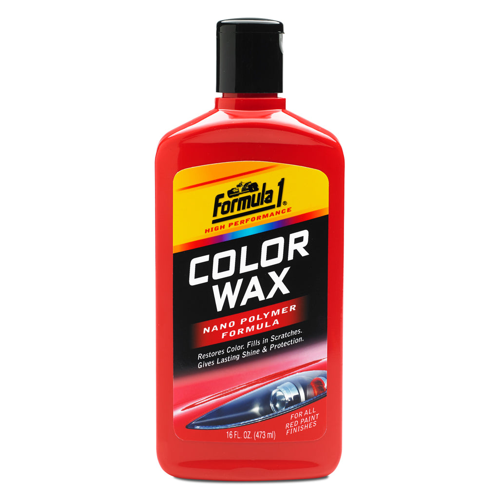 Formula 1 Color Wax Red 473ml