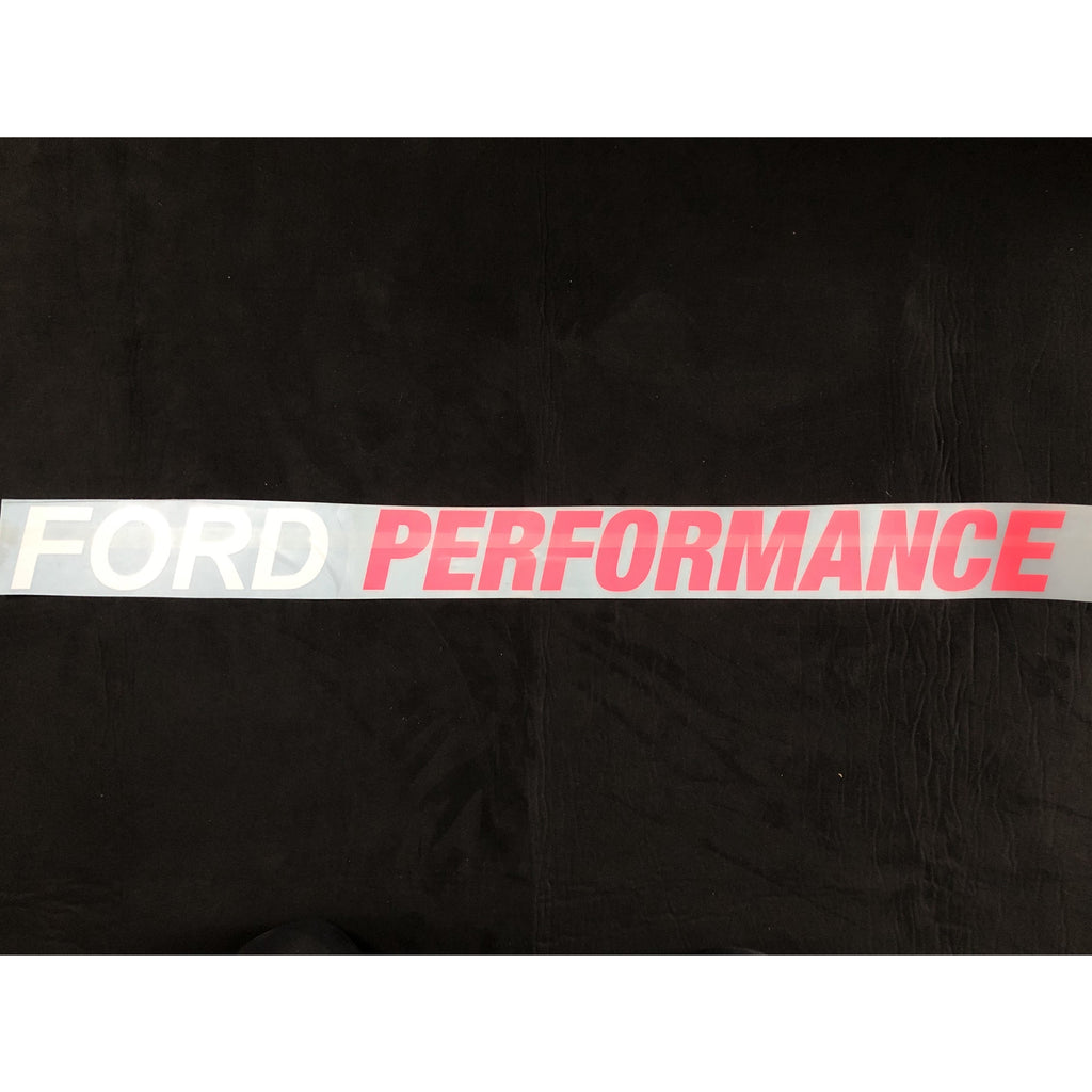"Ford Performance Window Decal 35"" x 3"" - WWW.PLANETAUTO.IE"