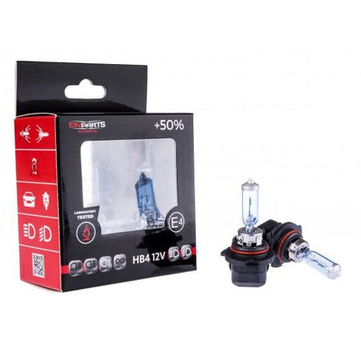 HB4 12v Halogen Bulbs Pair +50% Brighter - WWW.PLANETAUTO.IE