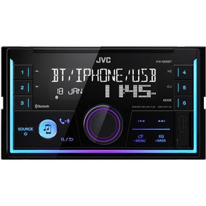 JVC KW-X830BT 2-DIN Digital Media Receiver - WWW.PLANETAUTO.IE