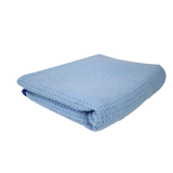 "Chemical Guys Super Absorber Waffle Weave Drying Microfiber Towel Blue 25""x36"" - WWW.PLANETAUTO.IE"