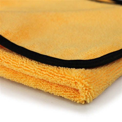 "Chemical Guys Miracle Dryer Absorber Premium Microfiber Towel with Silk Edges, 36"" x 25"" - WWW.PLANETAUTO.IE"