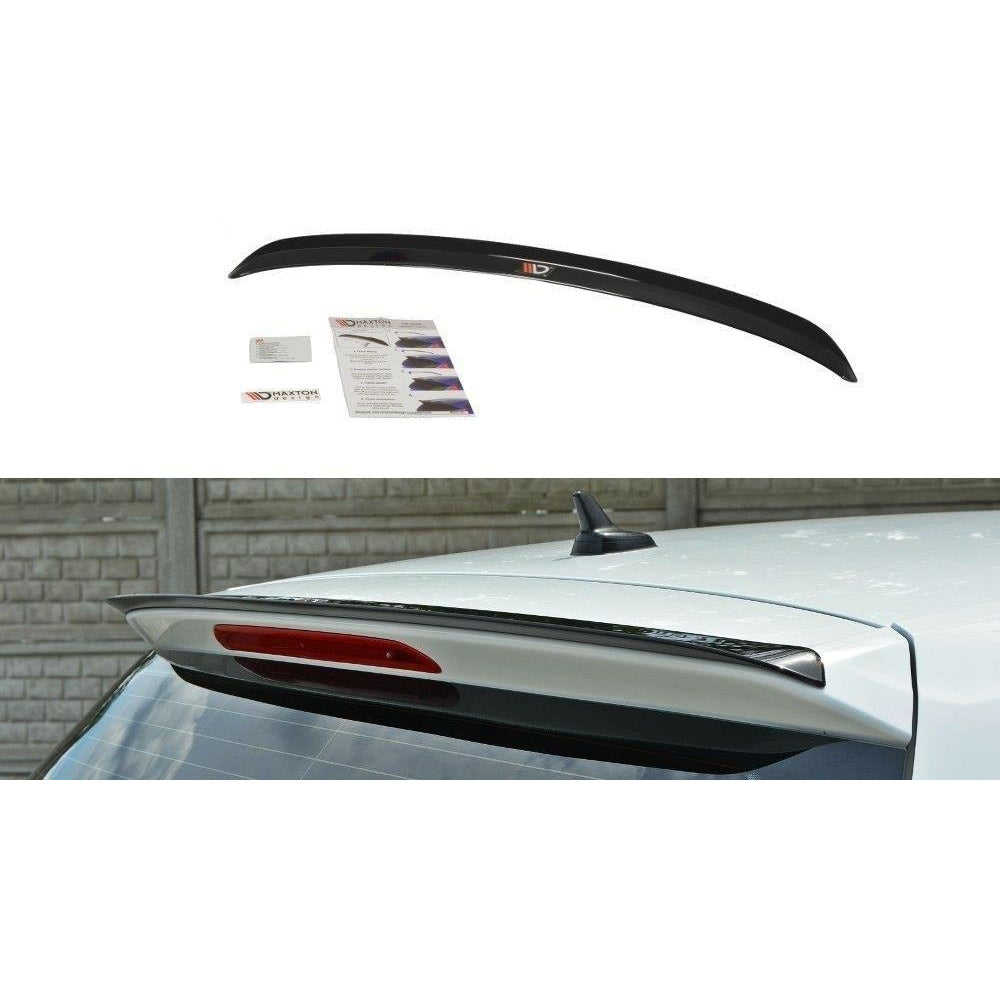 Maxton Design Spoiler Cap VW Golf MK7 2012-16 Gloss Black