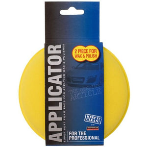 Professional Car Care Foam Wax and Polish Applicator Twin Pack - WWW.PLANETAUTO.IE