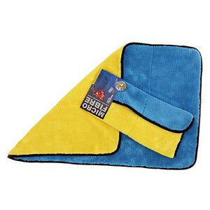 Martin Cox Supersoft Thick Detailing Giant Large Microfibre Drying Towel Cloth - WWW.PLANETAUTO.IE