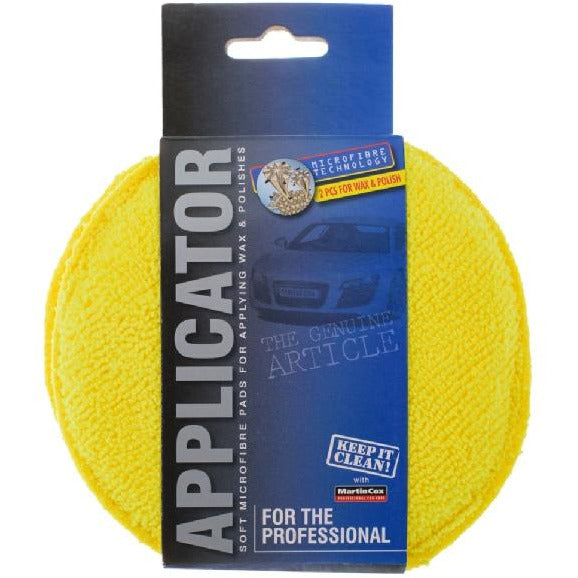 Professional Car care Microfibre Polish Applicator Pads Twin pack - WWW.PLANETAUTO.IE