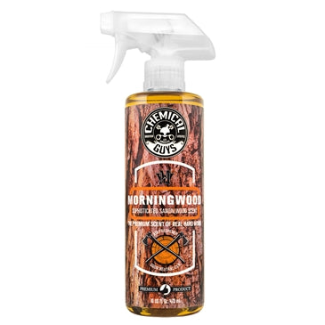 Chemical Guys Morning Wood Sophisticated Sandalwood Scent Premium Air Freshener & Odor Eliminator - WWW.PLANETAUTO.IE