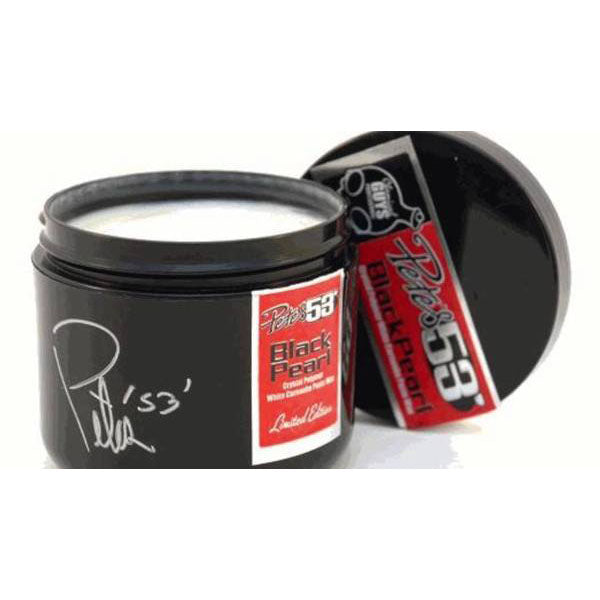 Chemical Guys Pete's '53 Black Pearl Crystal Polymer White Carnauba Paste Wax 236ml - WWW.PLANETAUTO.IE