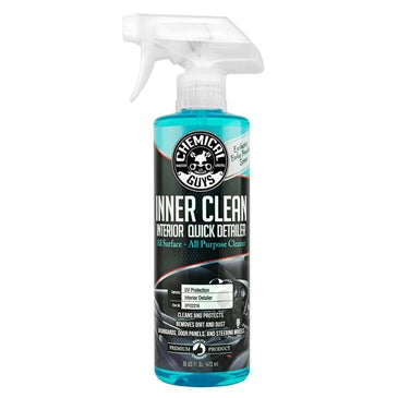 Chemical Guys InnerClean Interior Quick Detailer & Protectant, Limited Edition Baby Powder Scent 473ml - WWW.PLANETAUTO.IE