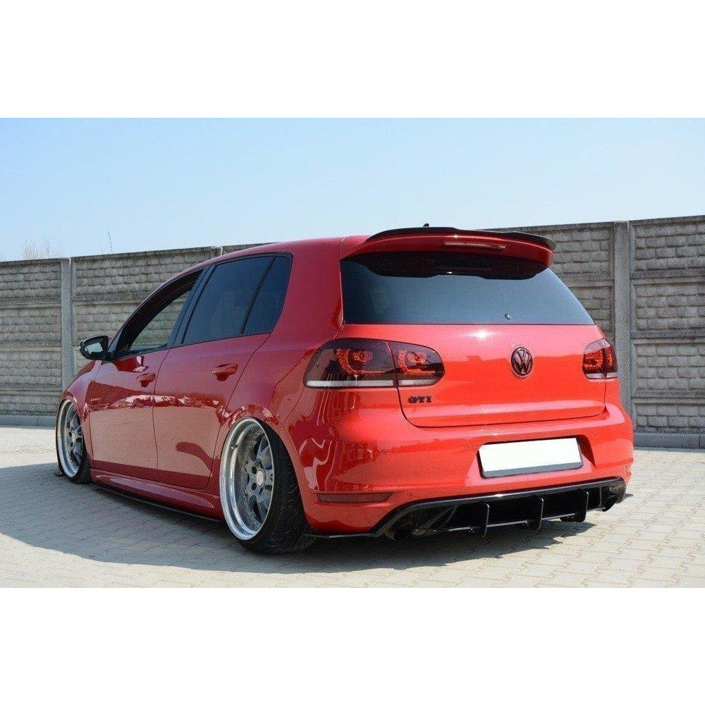 Maxton Design Spoiler Extension VW Golf MK6 GTI / R Gloss Black