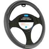 Simply Steering Wheel Cover Smart Black/Silver