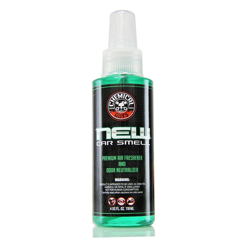 Chemical Guys New Car Smell Premium Air Fragrance & Freshener 118ml - WWW.PLANETAUTO.IE