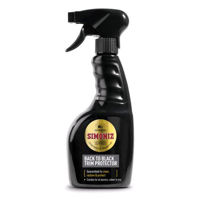 Simoniz Back to Black Trim Protector Trigger 500ml - WWW.PLANETAUTO.IE