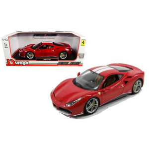 Burago 488 GTB 70TH Anniversary Collection 1/18 Die Cast Model - WWW.PLANETAUTO.IE