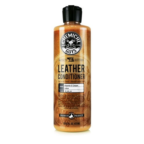 Chemical Guys Leather Conditioner 473ml - WWW.PLANETAUTO.IE