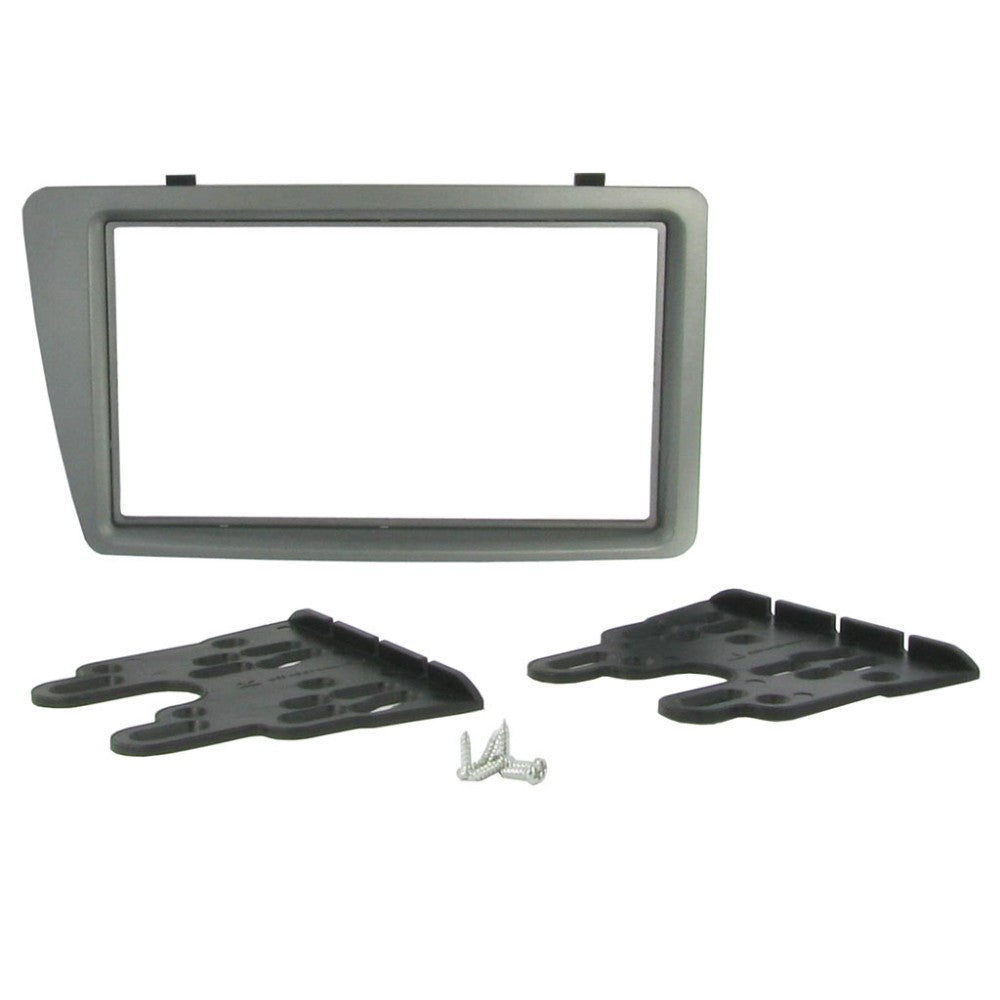 Connects Honda Civic 2001-2005 Double Din Facia Panel Grey - WWW.PLANETAUTO.IE