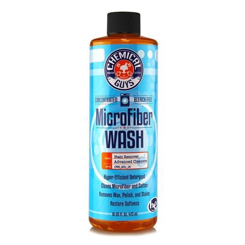 Chemical Guys Microfiber Rejuvenator Cleaning Detergent Concentrate 473ml - WWW.PLANETAUTO.IE