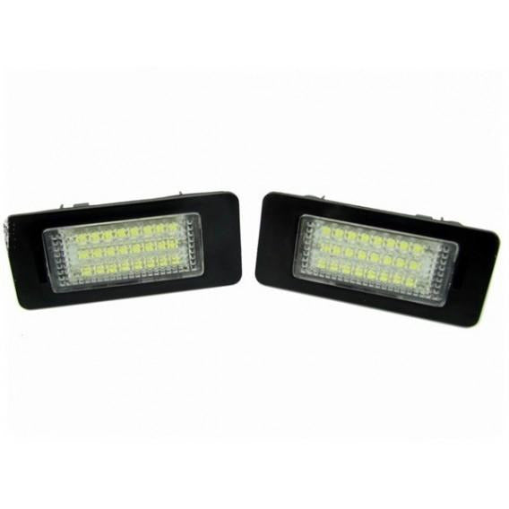 BMW LED Licence Plate Lights Pair - WWW.PLANETAUTO.IE