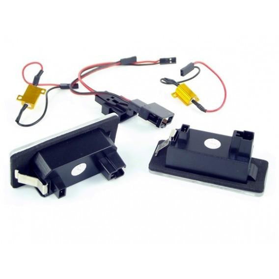 Audi LED Licence Plate Lights Pair - WWW.PLANETAUTO.IE