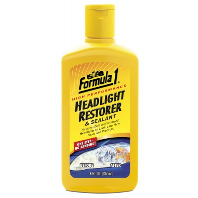 Formula 1 Headlight Restorer & Sealant 237ml - WWW.PLANETAUTO.IE