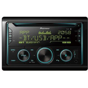 Pioneer FH-S720BT 2-DIN CD Tuner with Bluetooth, multi colour illumination, USB, Spotify, Pioneer Smart Sync App and compatible with Apple and Android devices - WWW.PLANETAUTO.IE