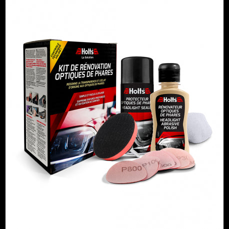 Holts Headlight Restoration Kit - WWW.PLANETAUTO.IE