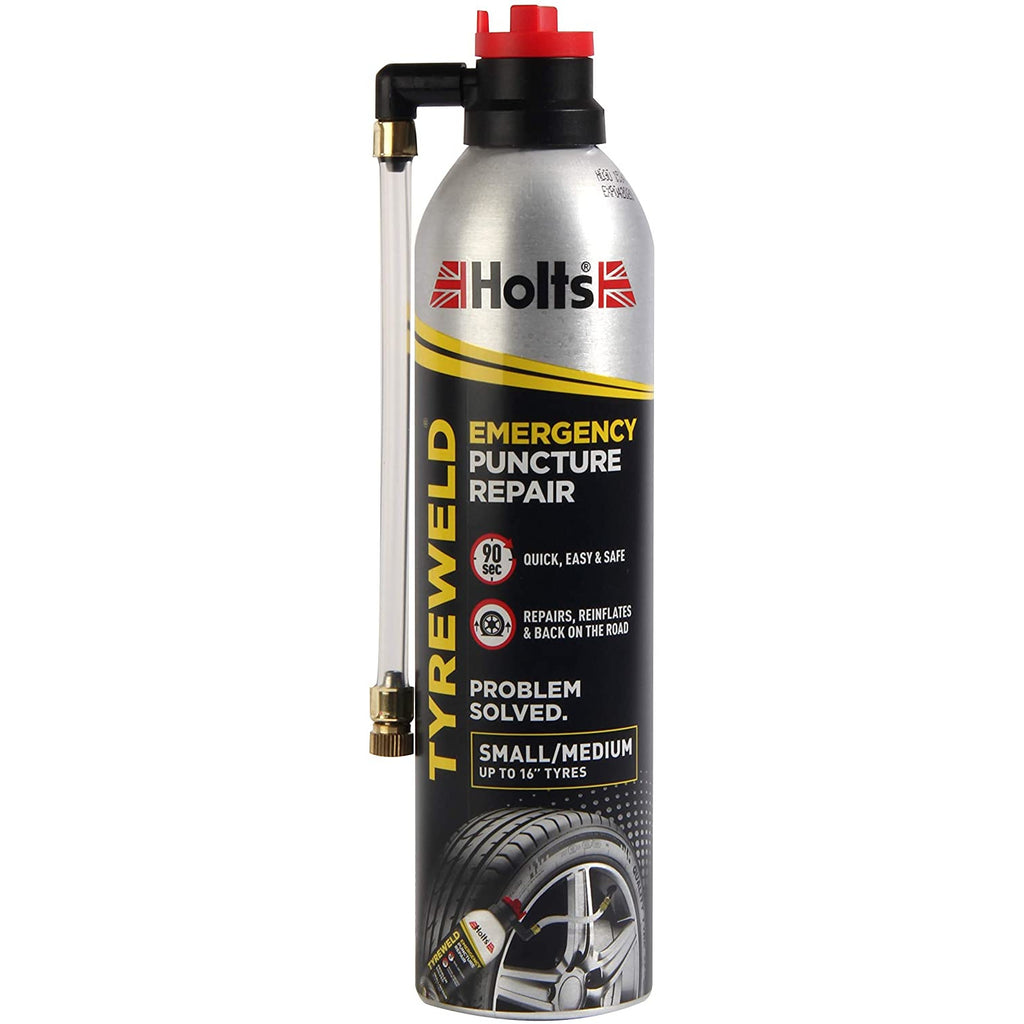 "Holts Tyreweld Emergency Puncture Repair for tyres up to 16"" 400ml"