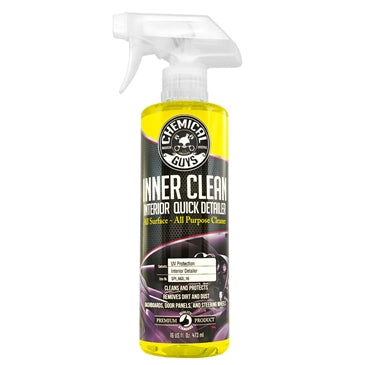 Chemical Guys InnerClean Interior Quick Detailer & Protectant 473ml - WWW.PLANETAUTO.IE