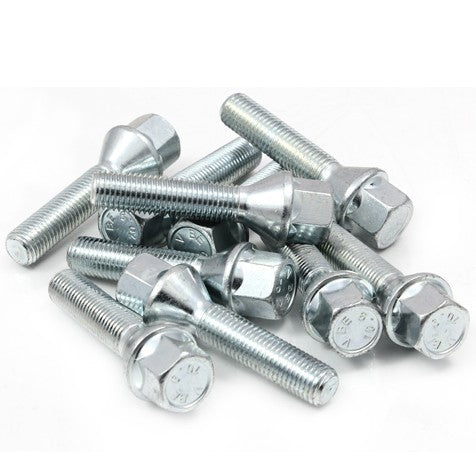 Alloy Wheel Bolts 12 x 1.5 Extra Long - WWW.PLANETAUTO.IE