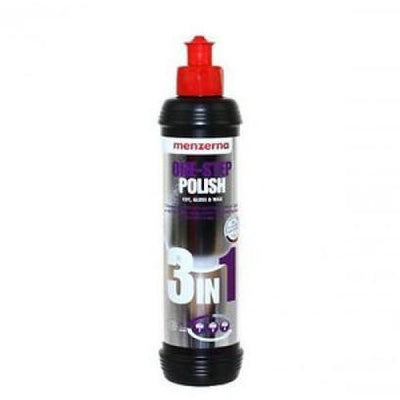 Menzerna One Step Polish Cut Gloss & Wax 250ml - WWW.PLANETAUTO.IE