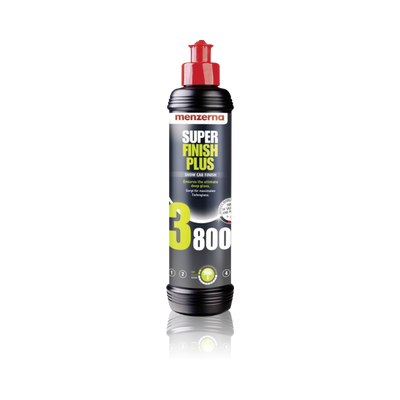 Menzerna 3800 Super Finish Plus Deep Gloss Polish 250ml - WWW.PLANETAUTO.IE