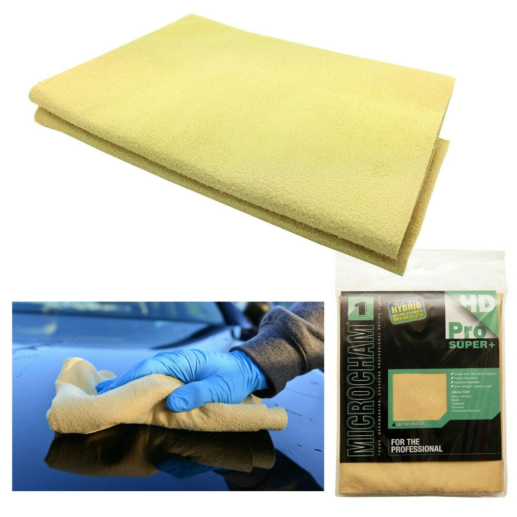 Martin Cox Microcham Hybrid Microfibre Synthetic Chamois Drying Cloth - WWW.PLANETAUTO.IE