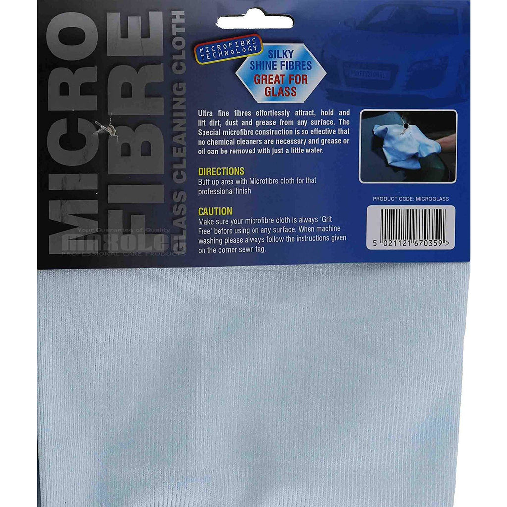 Martin Cox Microfibre Glass Cleaning Cloth - WWW.PLANETAUTO.IE