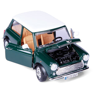 Burago 1/18 Mini Cooper 1969 Die Cast Model - WWW.PLANETAUTO.IE