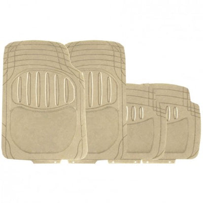 Simply Excalibur Luxury Car Mats (Beige) - WWW.PLANETAUTO.IE